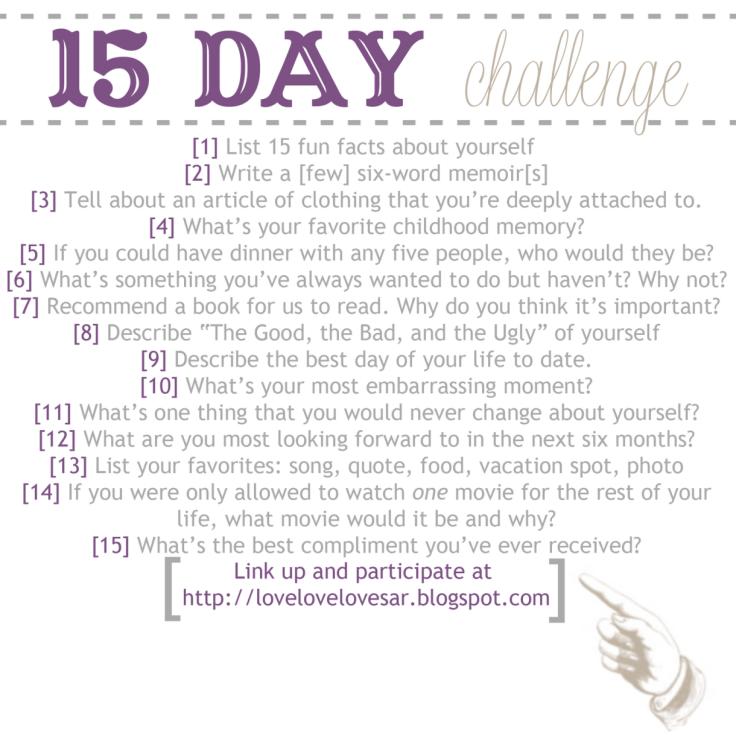 15 day challenge